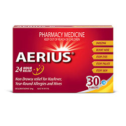 Aerius Tablets 250px