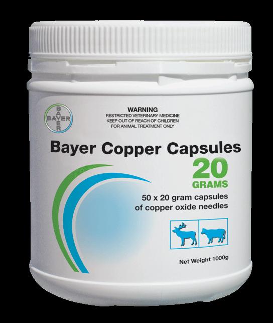 Bayer Copper Capsules 20 Grams