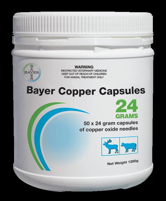 Bayer Copper Capsules 24 Grams