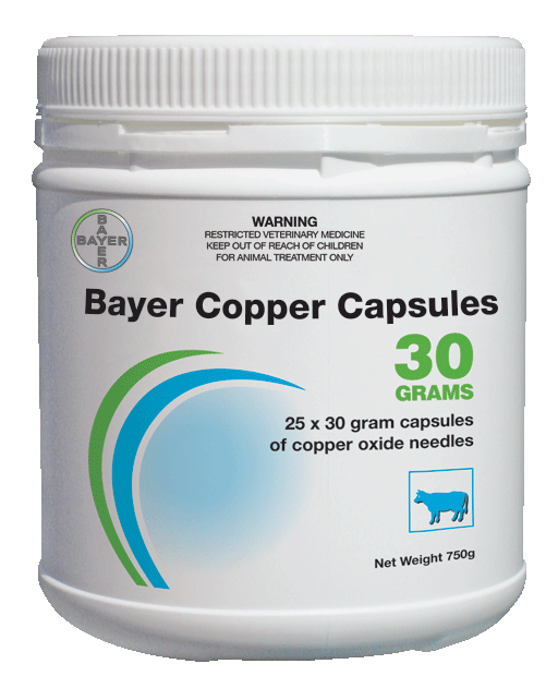 Bayer Copper Capsules 30 Grams