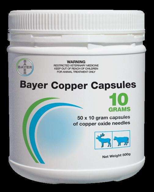 Bayer Copper Capsules 10 Grams