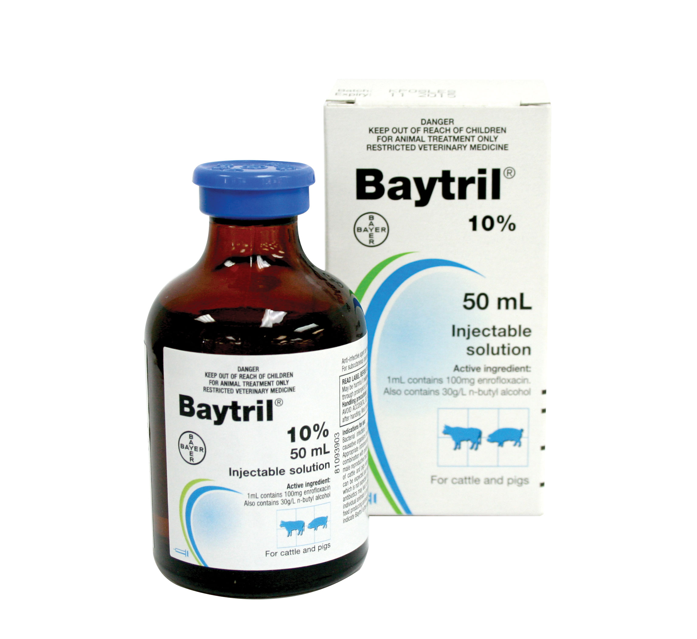 Baytril 10% Injectable Solution