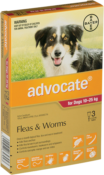 Advocate® Large Dogs 10 - 25kg