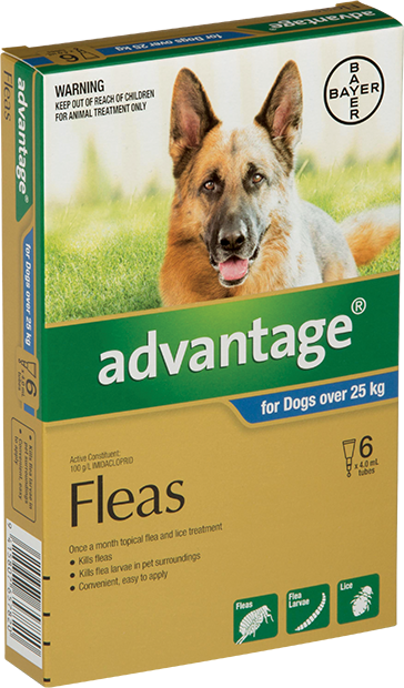 Advantage® for Dogs over 25kg