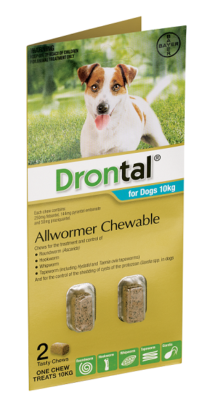 Drontal® Allwormer Chewable for Dogs