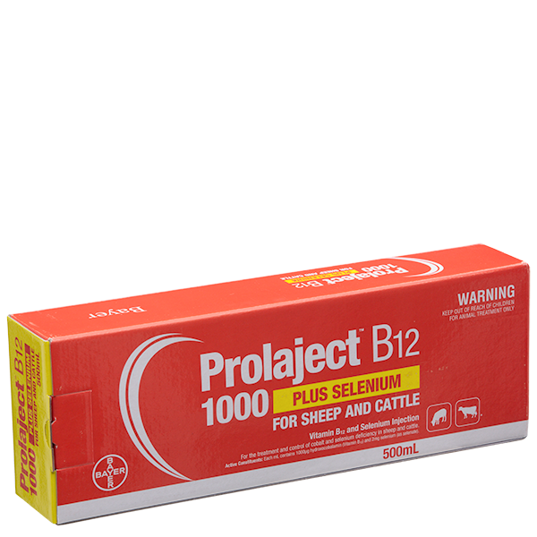 Prolaject® B12 1000 Plus Selenium
